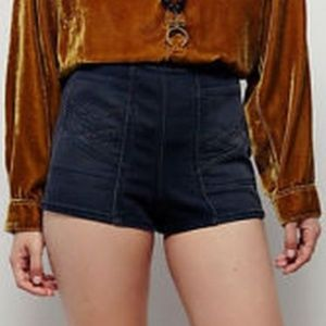 NEW Free People High Waist Gray Shorts